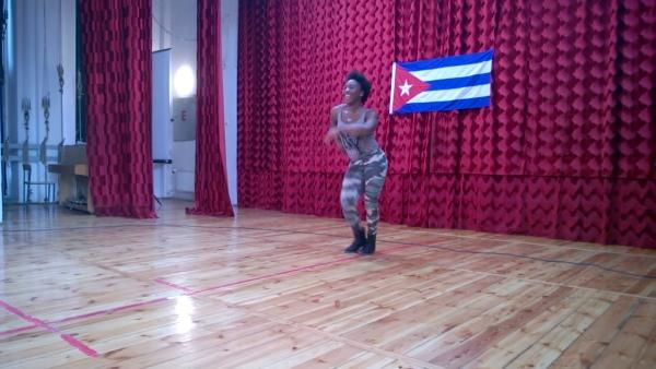 Zajęcia Regli Afro Rumba podczas Cuban Weekend 2014 w Rzeszowie
