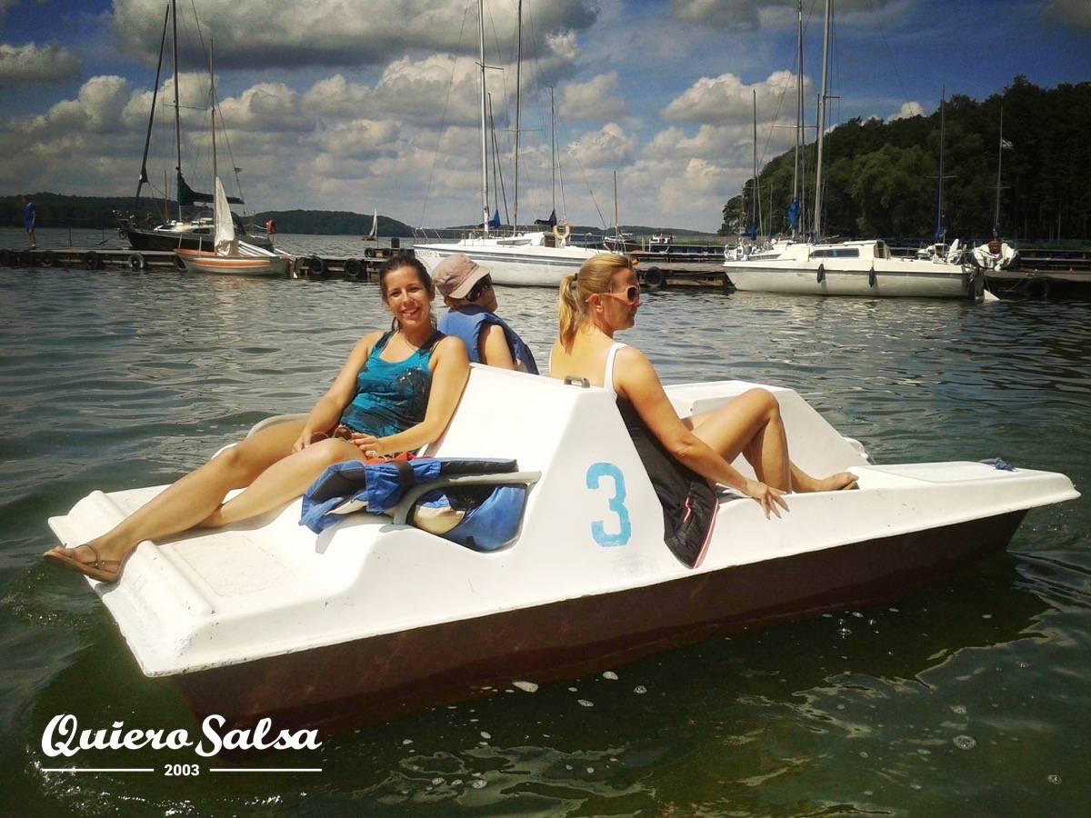 Relaks na rowerach wodnych :)